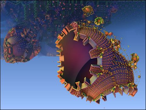 Fishes fractal by andreabiffi