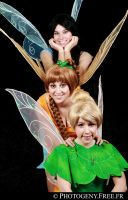 Tink and friends by Biseuse