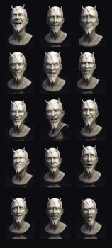 Mephistopheles - expressions by Intervain