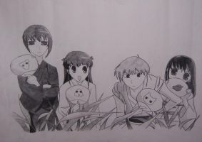 Fruits Basket-The Four by summermagic