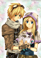 Ezreal + Lux by AnaKris