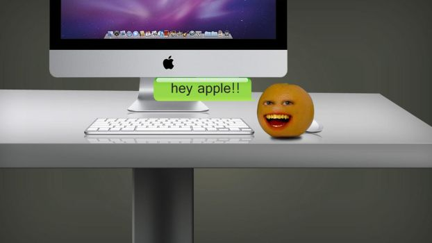 Hey apple by masacote18
