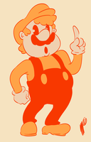 Fire Mario by SGTMADNESS