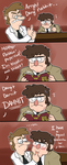 Gravity Falls - Blood Sample by itsaaudraw
