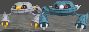 XPS Pokemon X and Y Beldum and Metang