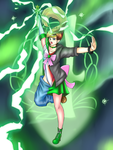 Jupiter Power, Make Up! - Sailor Jupiter TG by KAIZA-TG