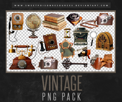 Vintage - Png Pack by sweetpoisonresources