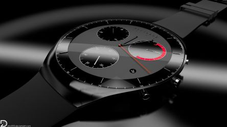 Wristwatch | Design-Concept (4k and Full HD) by Dario999