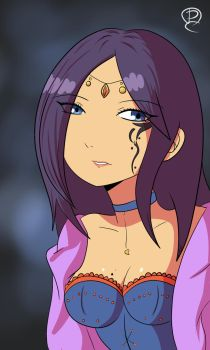 Fortune Teller Oracle Maria Balan OC by PitClover