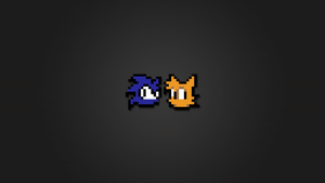 Sonic Tails 8bit Wallpaper HD by LaChRiZ