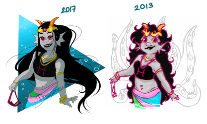 Feferi Redraw by Thea0605