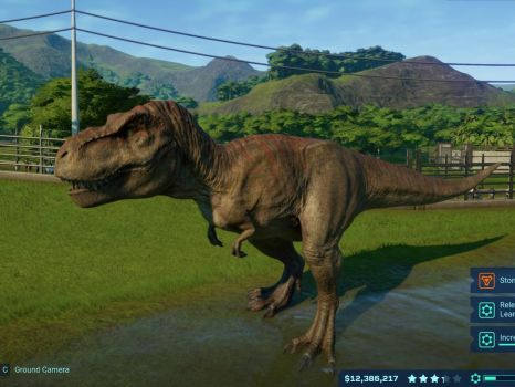 Jurassic World Evolution-Tyrannosaurus Rex 8 by GiuseppeDiRosso