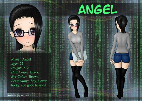 Angel ref by Tallon90