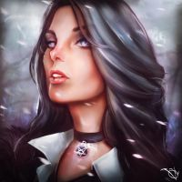 Yennefer by VadimLityuk