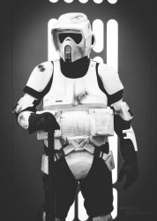 Faces of the Empire: Scout Trooper by TDSOD