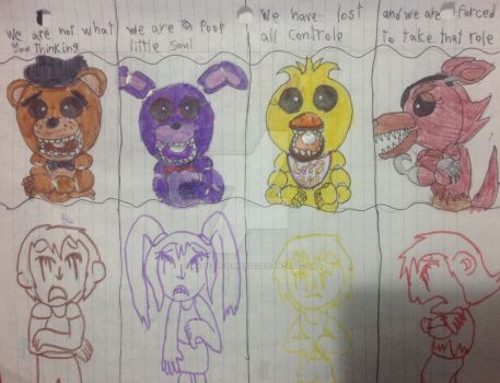 Five night at Feddy song by Marie-la-tigresse