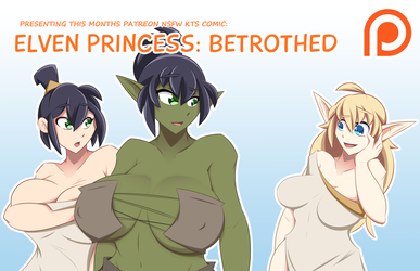 Elven Princess - Betrothed Comic Pro by Obhan