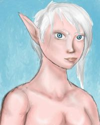 Elf blue by Stardust-on-my-mind