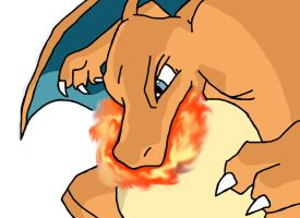 Charizard's Flamethrower by QUAKER132