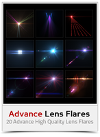 Advance Lens Flares by khaledzz9