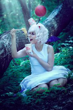 Moogles Love Cup Noodles! by Reign-Cosplay
