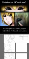 What about new comic page? by DeluCat