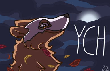 Helloween YCH Auction - 2 slots [CLOSED] by Funny-arts
