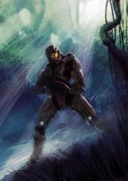 master chief by WhoAmI01