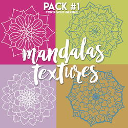Mandalas Texture Pack #1 by ContagiousGraphic