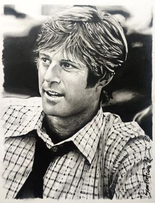 Robert Redford by SoulShapedFace