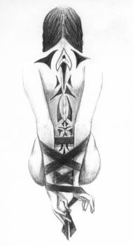 Tattooed Back by telophase