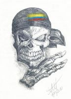 Skull by Alex-Marin-Art