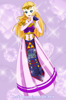 Commission Princess Zelda OoT by CoconCrash
