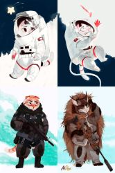 SpaceCat and SWATcat by REYKAT
