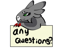 Any questions? by whirlawind