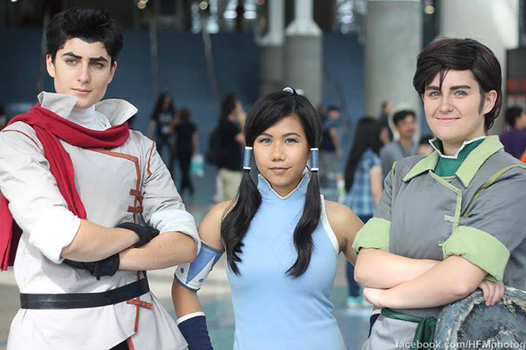 Legend of Korra Cosplay | Fire Ferrets by CosplayInABox