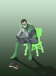 Green Lantern Thinking better by phil-cho