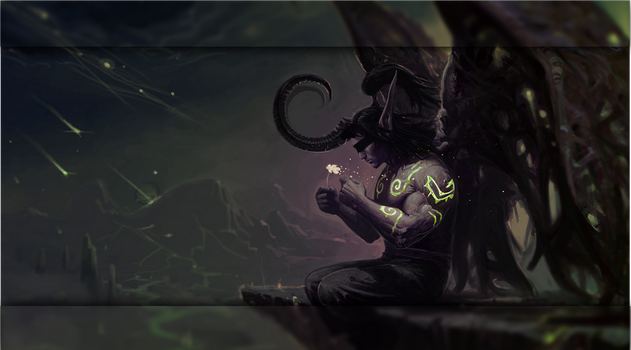 Illidan GRUB2 theme by Steewee