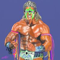 Ultimate Warrior by lelmer77