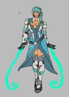 Overwatch OC: Venin by Exvnir