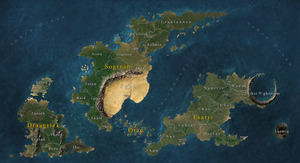 The Triplet Archipelago by Tekila-onRice