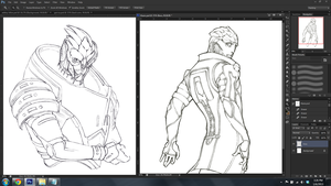 WIPs for 01/06/2013 by Jacinthe