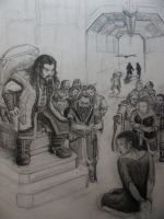 Thorin Chastises Vaenomar by BlueOakRogue