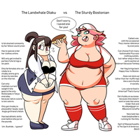 The Chad/Virgin Meme but with cuddly Anime Girls. by SharpySaber