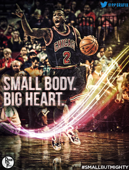 Nate Robinson: Small Body, Big Heart by PavanPGraphics