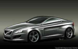 V90 Coupe Render by Dr-GoFast
