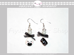 Japan Life - Earrings Onigiri + Nigiri by AyumiDesign