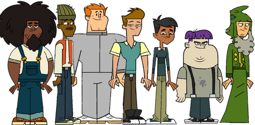 Total Drama Pahkitew Island Boys by TheDipDap1234