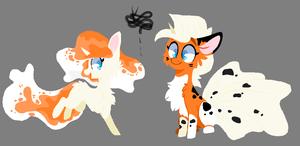 Ponymon Adopts~ Goldeen, Seaking (Closed) by ProjectBlastArt