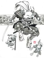 Usagi Yojimbo by Stephen-Green